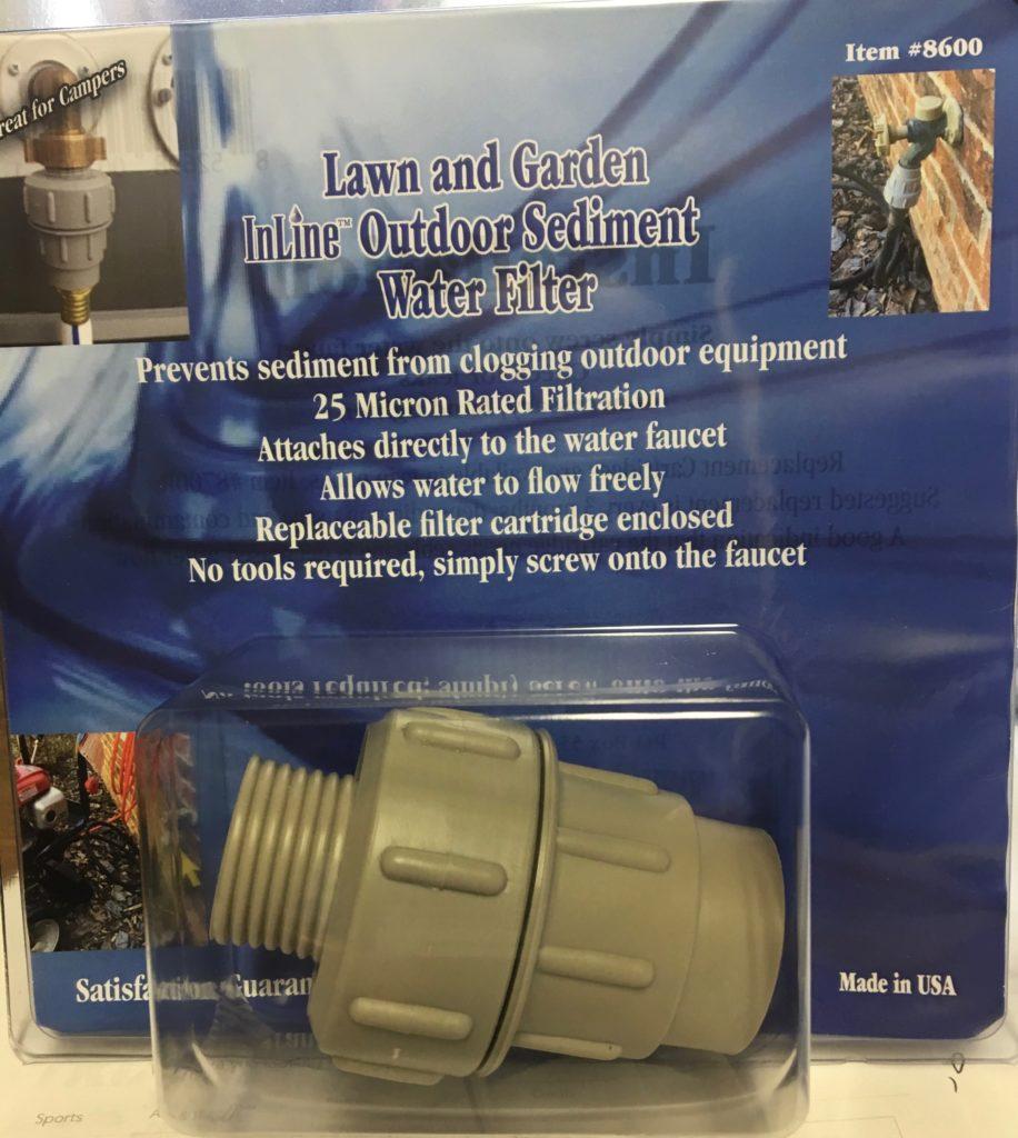 outdoor water filter