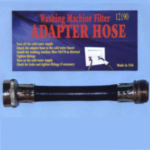 washing machine filter adapter hose