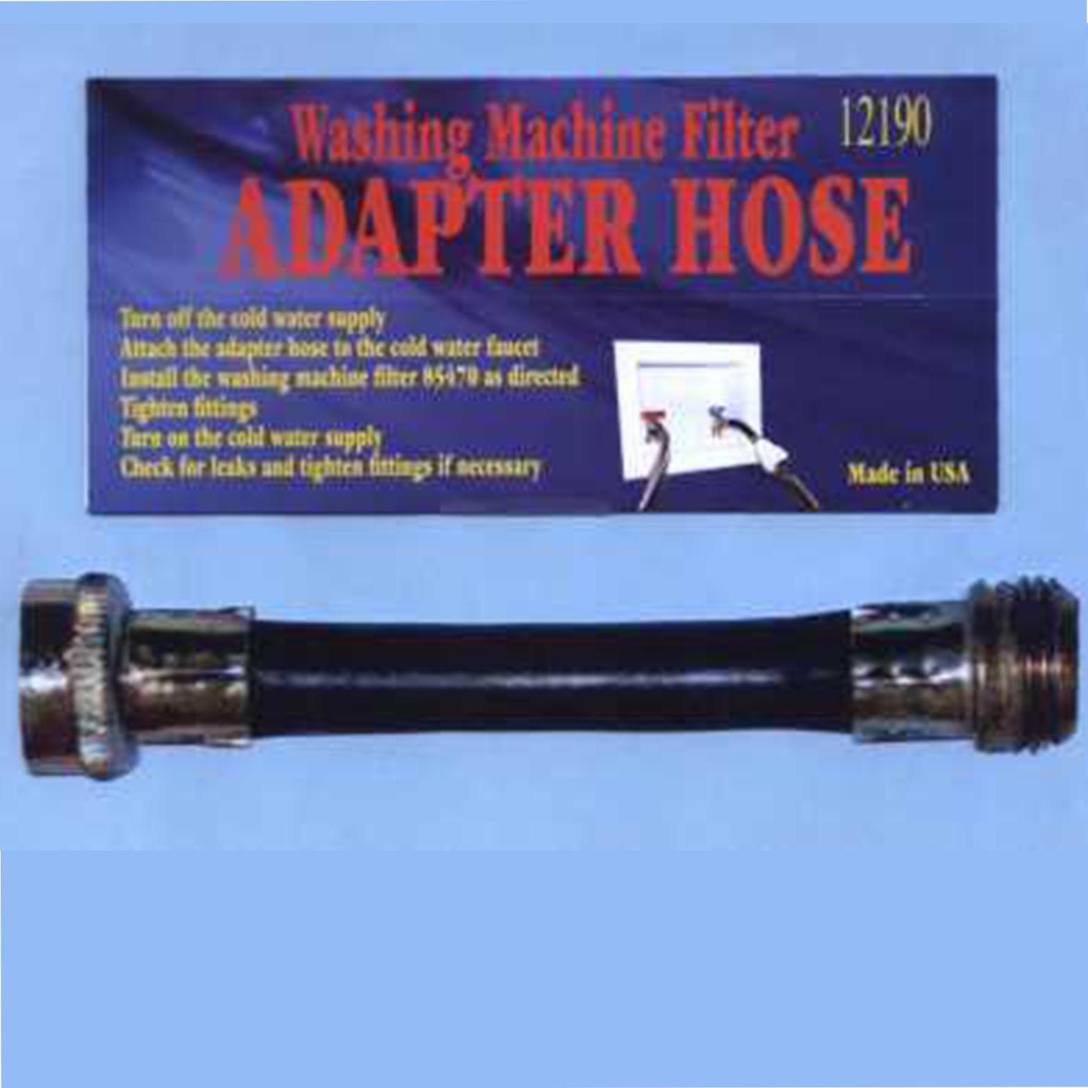 Adapterhose on Garden Hose Inline Filter