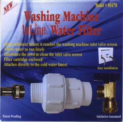 Washing Machine Inline Water Filter